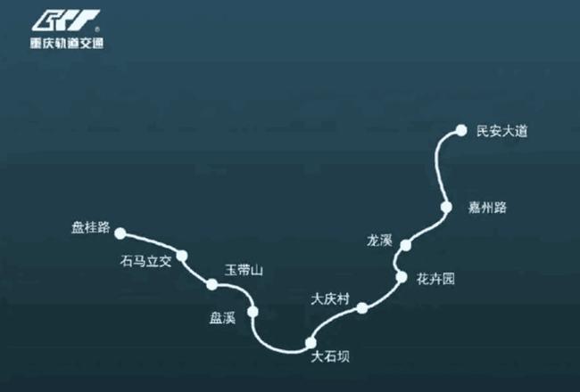重庆地铁4号线西延段取得新进展,全线首个过街通道完成